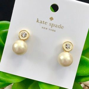 Kate Spade Pearly Delight Large Stud Earrings